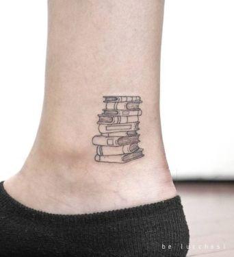 book tattoo